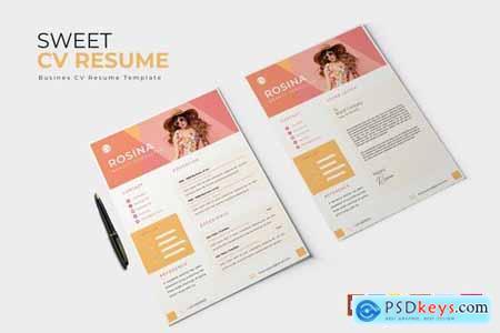 Sweet CV & Resume