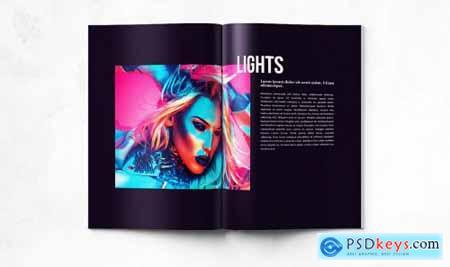 Artistic Portfolio - A4 & US Letter - 20 pgs
