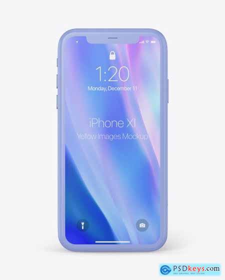 Clay Apple iPhone 11 Pro Mockup 51551