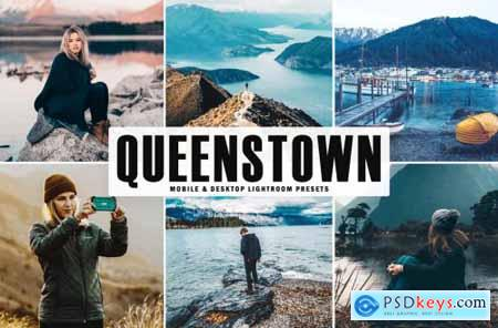 Queenstown Mobile & Desktop Lightroom Presets