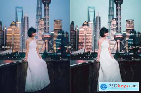 Shanghai Mobile & Desktop Lightroom Presets