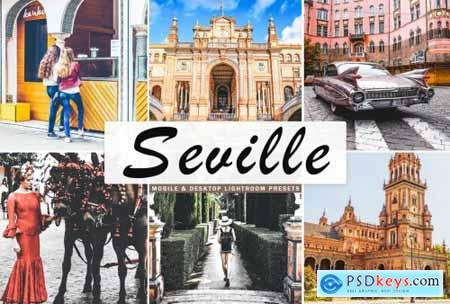 Seville Mobile & Desktop Lightroom Presets
