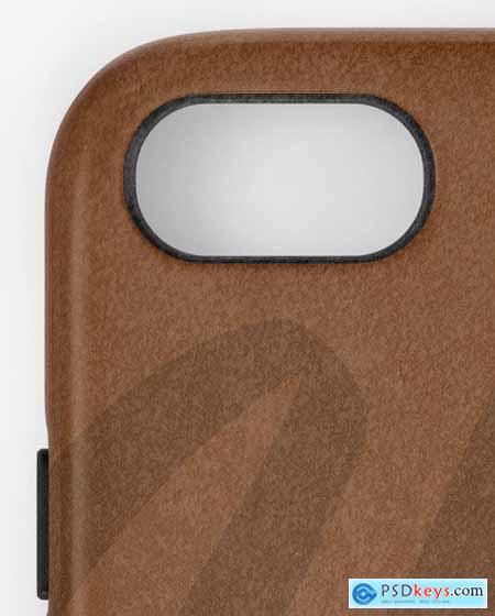 iPhone Leather Case Mockup 51408