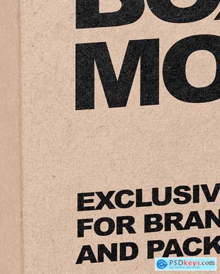 Kraft Box Mockup 51544