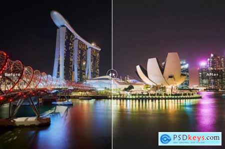 Singapore Mobile & Desktop Lightroom Presets