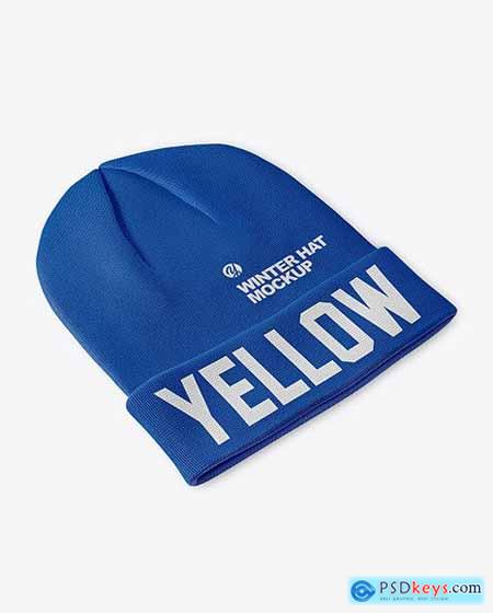 Winter Hat Mockup 51458
