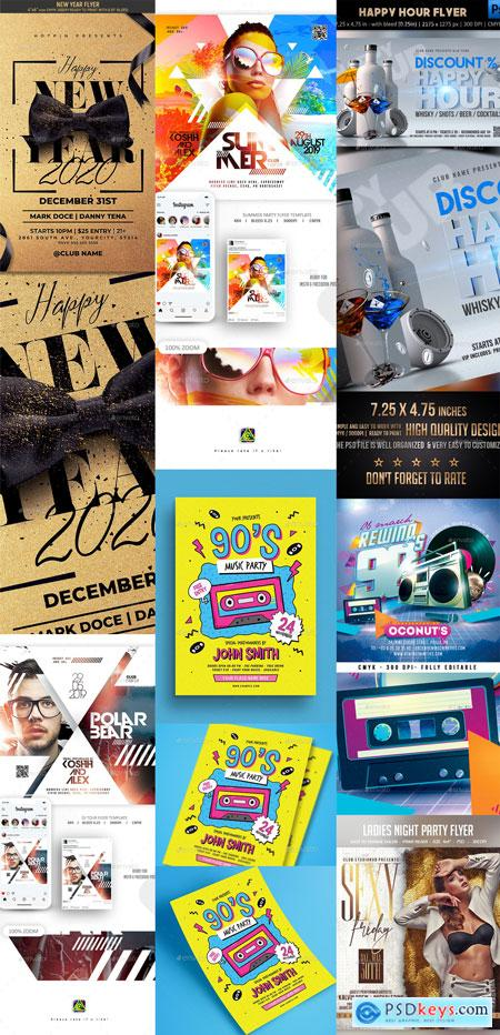 Flyer Template Vip New Year Part 3 31-DEC-2019 PREVIEW