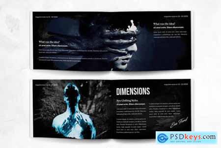 Photo Magazine A5 Horizontal Bifold - 20 Pages
