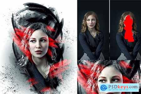 Poster Creator Photoshop Action 4393399