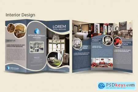 INTERIOR - Multipurpose TriFold Brochure Template
