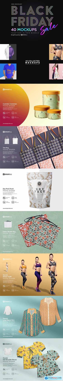 Black Friday Sale ~ Mockup Bundle 4323964