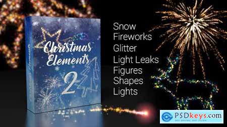 Videohive Christmas Elements 2 21018929