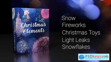 Videohive Christmas Elements 19016786