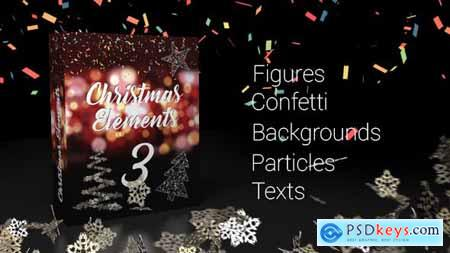 Videohive Christmas Elements 3 21112263