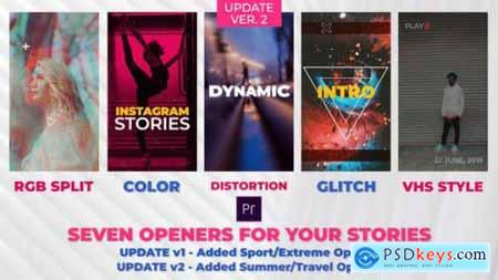 Videohive Stories Openers Pack 22426164