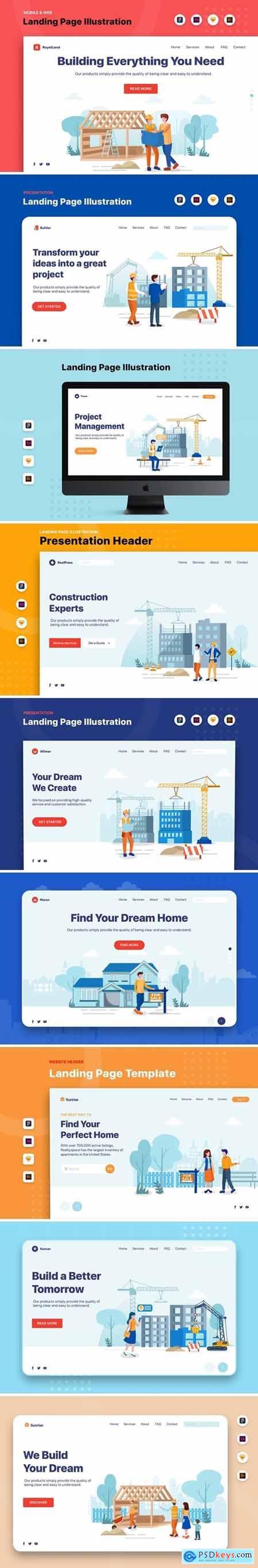 Banner & Landing Page Bundle 4