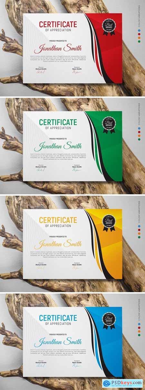 Certificate GUQCC95