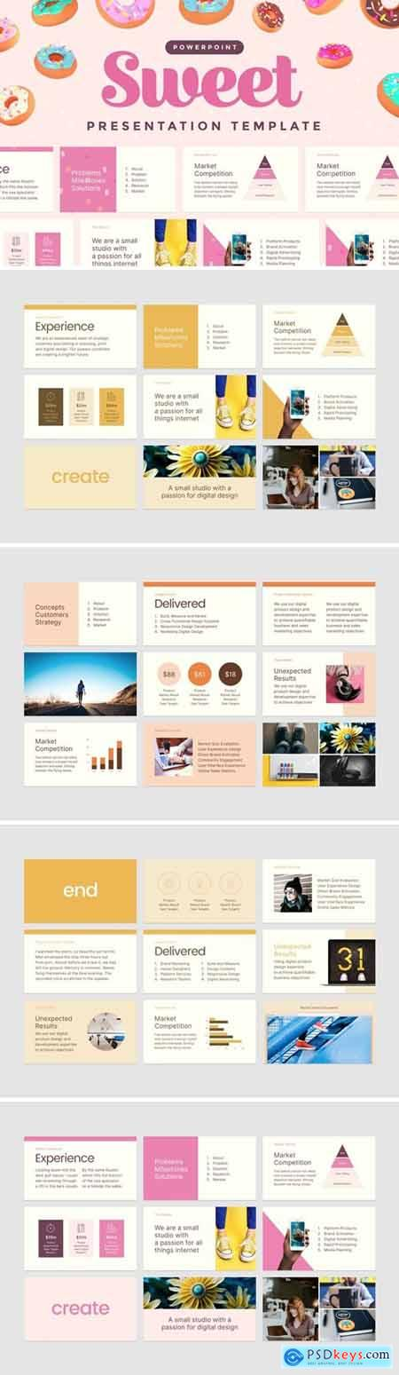 Sweet — Powerpoint Presentation Template