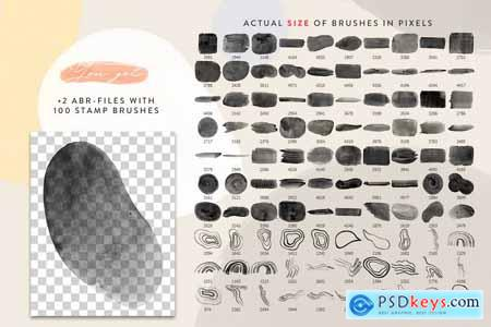 All Photoshop Stamp Brushes Bundle 4319870