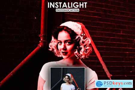 InstaLight Photoshop Actions 4320526