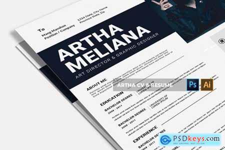 Artha CV & Resume
