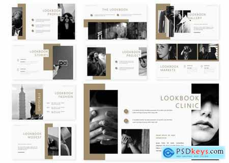 Lookbook Powerpoint Google Slides and Keynote Templates