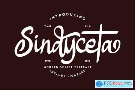 Sindyceta Modern Script