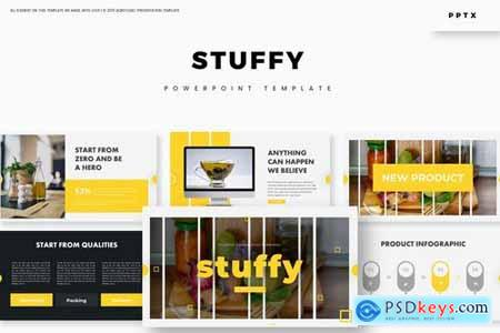 Stuffy - Powerpoint Google Slides and Keynote Templates