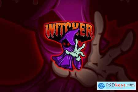 Witcher - Mascot & Esport Logo
