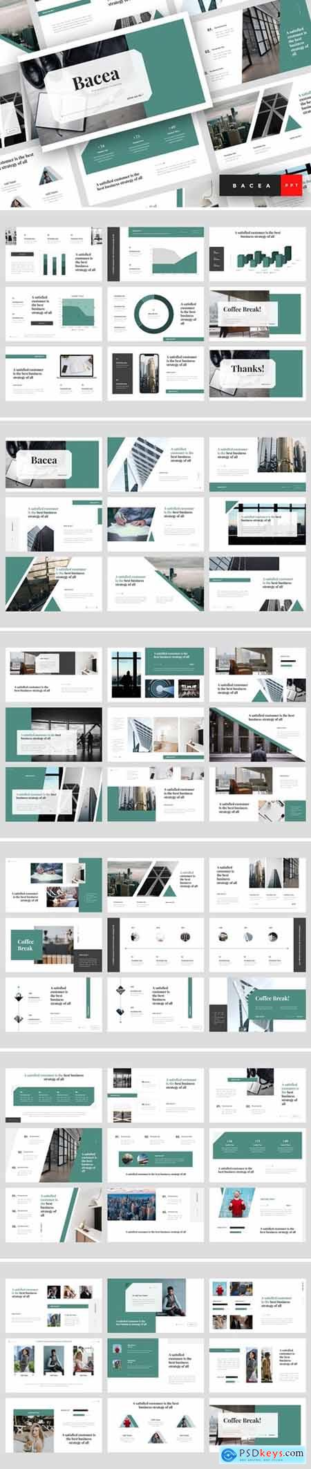 Bacea - Business Powerpoint, Keynote and Google Slides Templates
