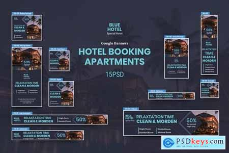 Hotel Banners Ad PSD Template