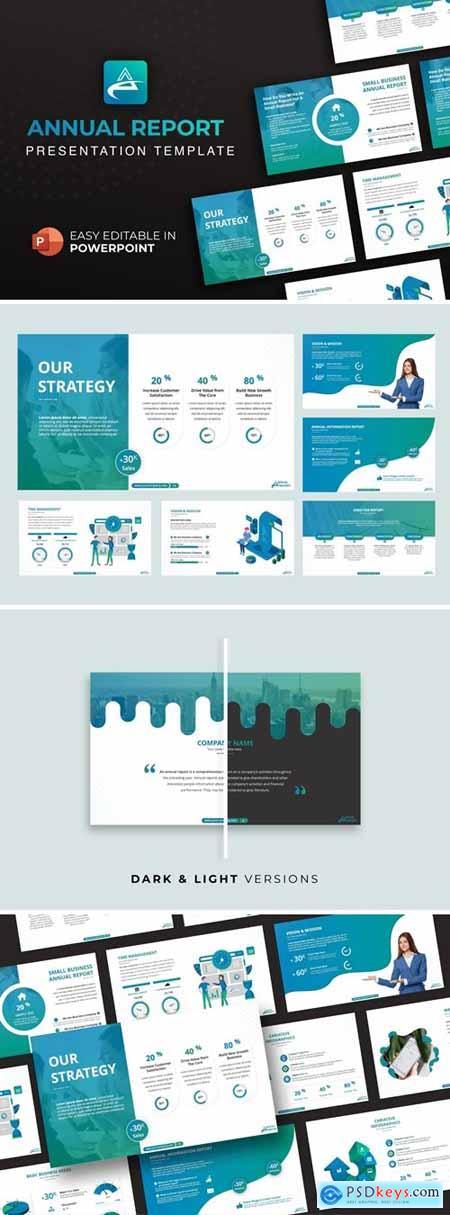 Annual Report Presentation Template