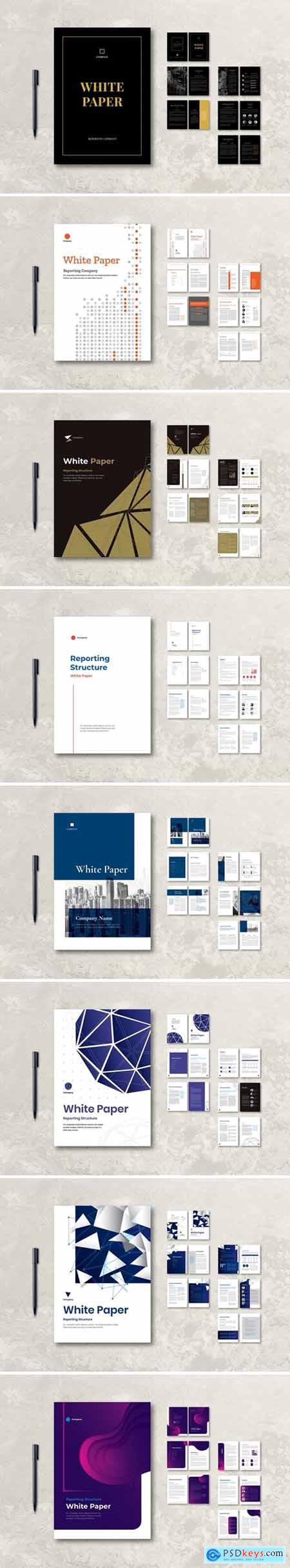 White Paper Company Report Bundle