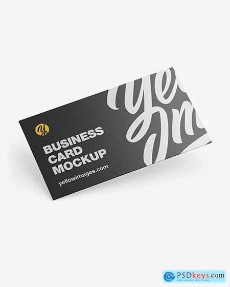 Business Card Mockup 51496