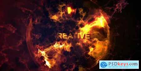 Videohive Fire Sphere Intro 7966074