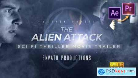 Videohive Scifi Thriller Movie Trailer Premiere PRO 25394643