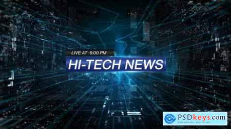 Videohive Hi-Tech News 25396295