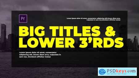 Videohive Corporate Big Titles I MOGRT 23838256