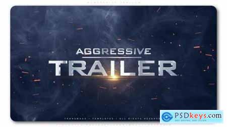 Videohive Aggressive Trailer 25369942