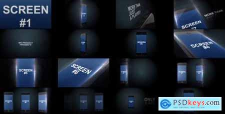 Videohive Black Iphone App Presentation 6925357