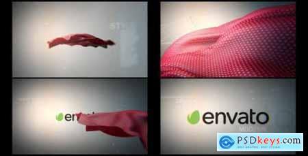 Videohive Floating Cloth Logo Revealer 6253960