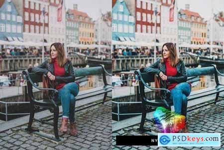 50 Copenhagen Lightroom Presets and LUTs