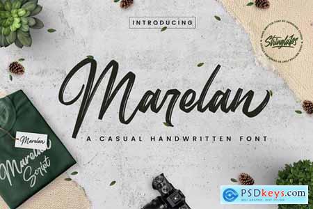 Marelan - Casual Handwritten Font 4430915