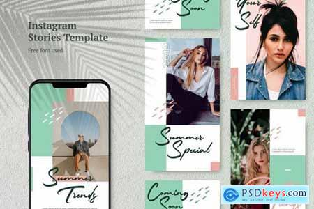 Elegant Instagram Stories Template 1