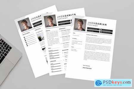 Jhon Designer Resume Designer