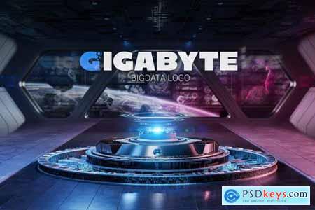 Letter G Big Data Logo