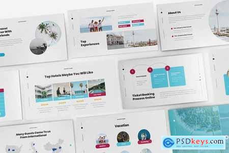 Travel Powerpoint Google Slides and Keynote Templates