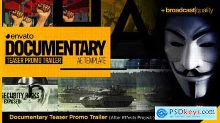 Videohive Documentary Teaser Promo Trailer 24557114