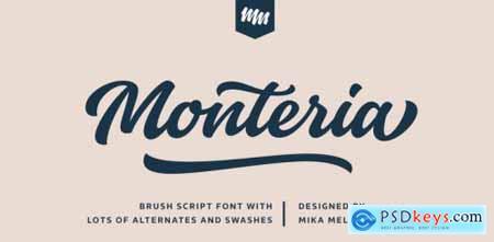Monteria Regular