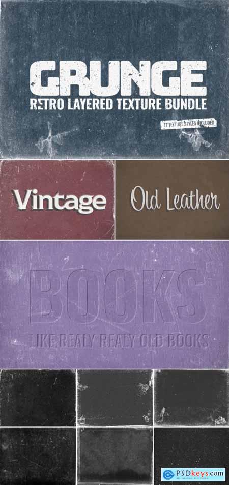 Vintage texture bundle 313164338